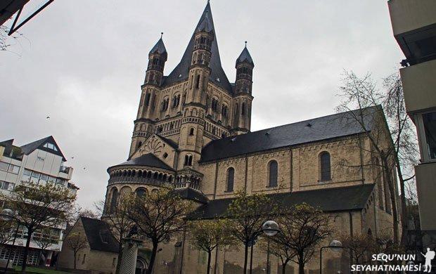 Köln St. Martin Kilisesi