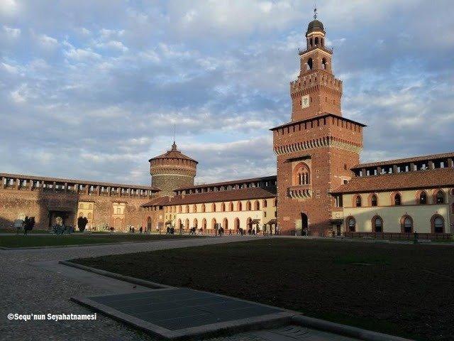 Castello Sforzesco - Milano Gezilecek Yerler