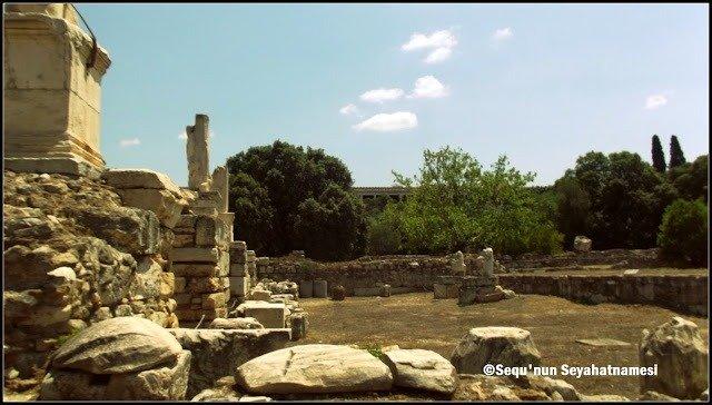 Agrippa Odeonu - Atina Ancient Agora Gezilecek Yerler