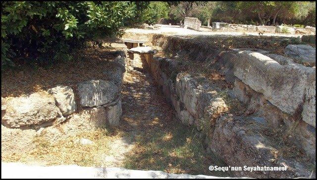 Antik Drenaj Sistemi - Atina Ancient Agora Gezilecek Yerler