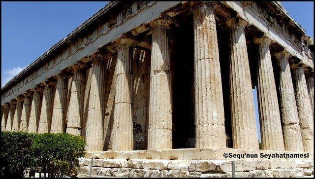 Hephaestus Tapınağı - Atina Ancient Agora Gezilecek Yerler