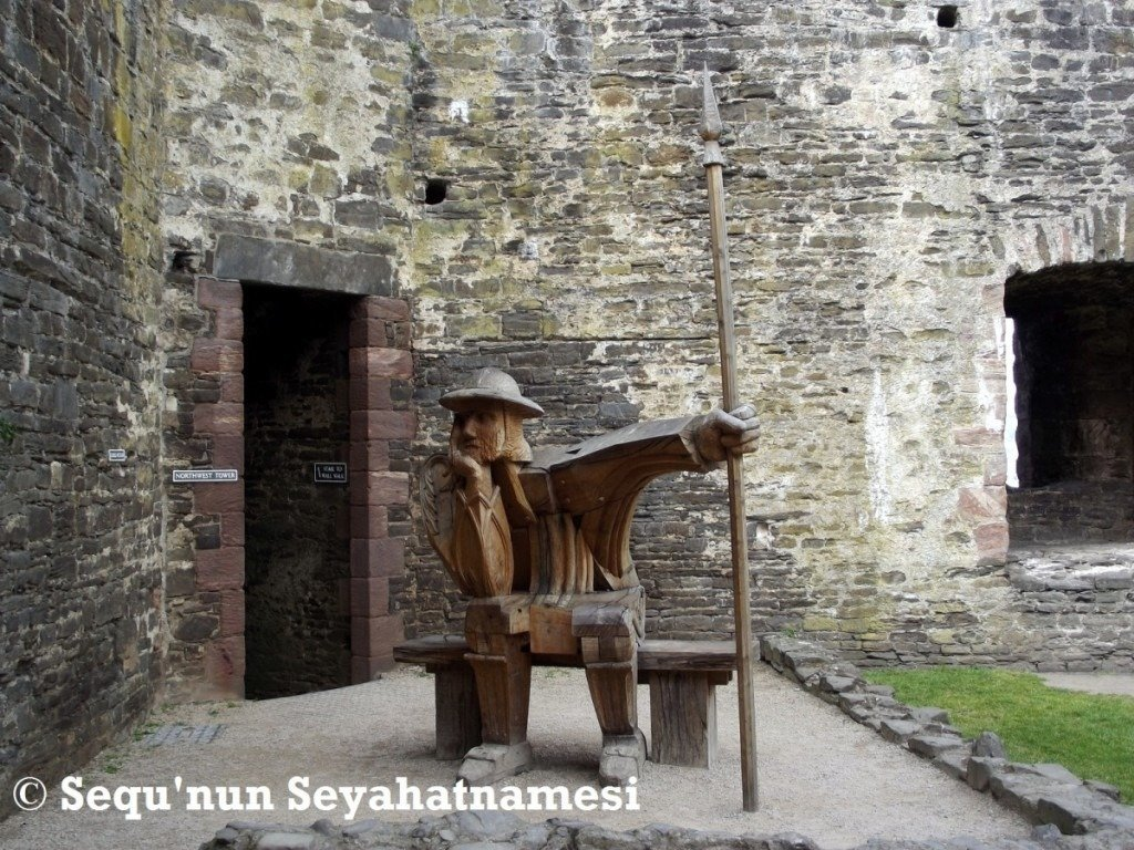 conwy-castle-the-wooden-guard