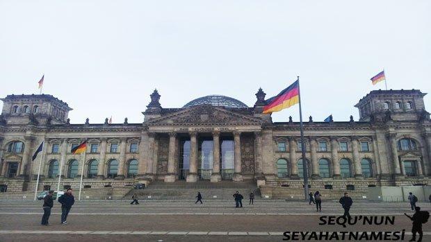 Almanya Parlamento Binası Reichstag