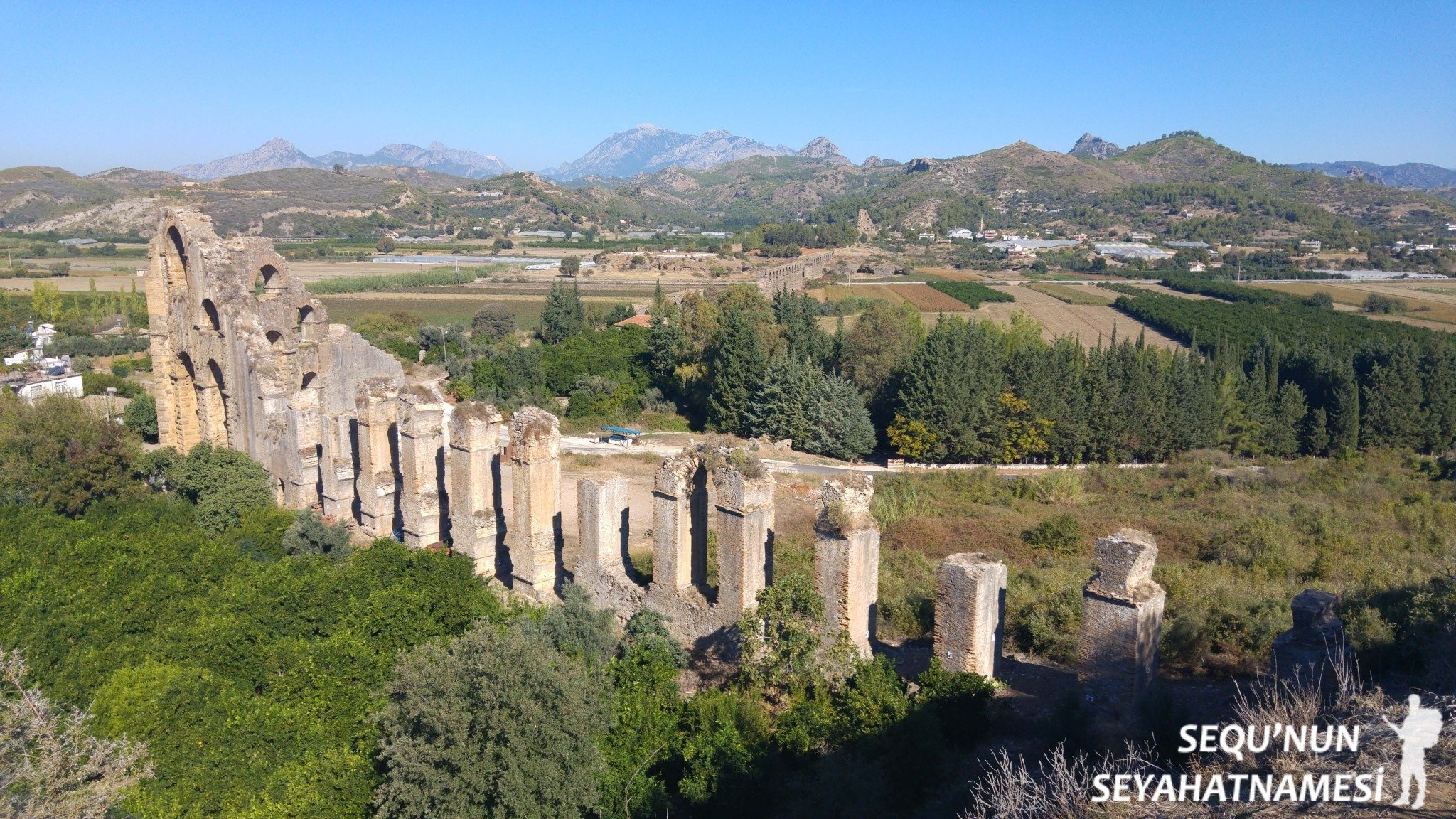 Aspendos Antik Kenti Tarihi : Aspendos antik kenti ve tiyatrosu rota senin