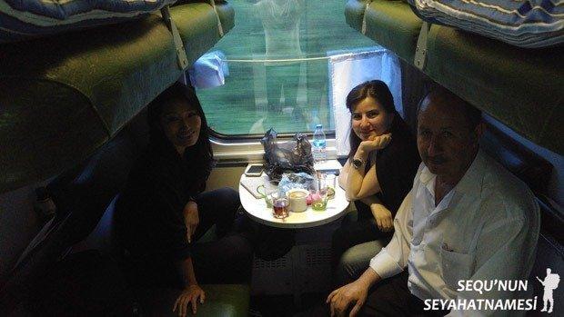 Tiflis Bakü Tren Seferleri