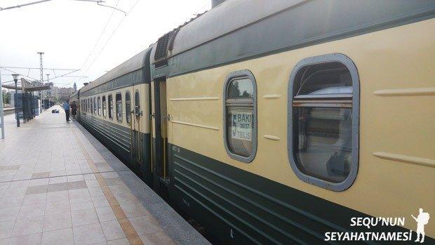 Tiflis Bakü Treni Biletleri