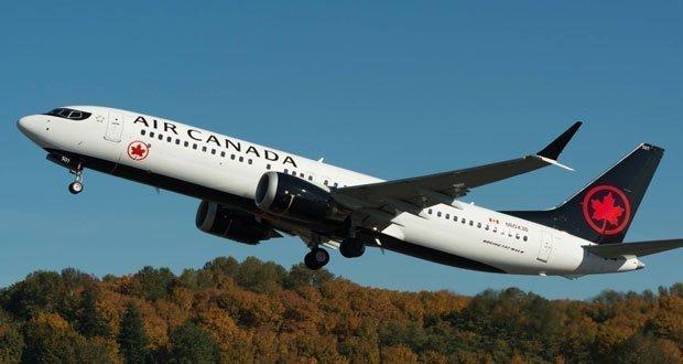 Air Canada para iadesi