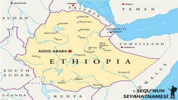Addis Ababa Nerede
