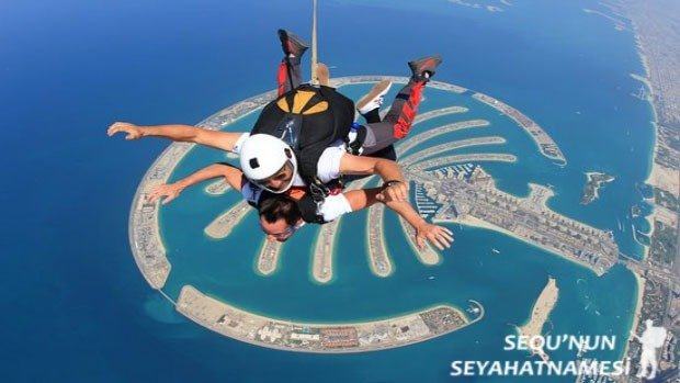 Dubai Skydiving fiyat